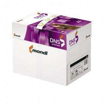 Картон Mondi Dns Premium, А4, 160g/m2, 250л., бял image