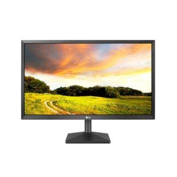 """Монитор LG 22MK400A-B, 21.5"""" (54.61 cm) TN панел, FHD, 5ms, 600:1, 250cd/m2, VGA (D-Sub) image"""