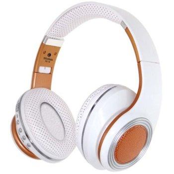 Слушалки FE-19, безжични, бели image