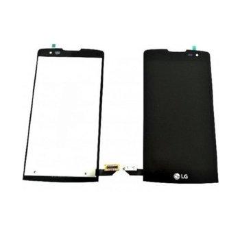 Дисплей за LG Leon C40, LCD, с тъч, черен image