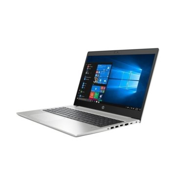 "Лаптоп HP ProBook 450 G7 (9TV48EA)(сребрист), четириядрен Comet Lake Intel Core i5-10210U 1.6/4.2 GHz, 15.6"" (39.62 cm) Full HD Anti-Glare Display, (HDMI), 8GB DDR4, 512GB SSD, 1x USB 3.1 Type-C, Free DOS  image"