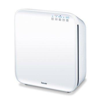 Пречиствател за въздух Beurer LR300, 50W, за помещения до 35 м2, HEPA филтър, 3 настойки, функция за пречистван с ултравиолетова светлина, таймер, бял image