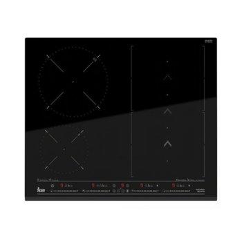 """Плот за вграждане Teka IZS 66700 SlideCooking, индукционен, 3/4 нагревателни зони, сензорно управление, функция """"Flex"""", черен image"""