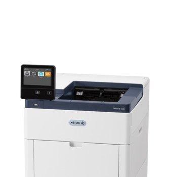Лазерен принтер Xerox VersaLink C600D, цветен, 2400 x 1200 dpi, 55 стр/мин, LAN100, Wi-Fi, USB 3.0, А4 image