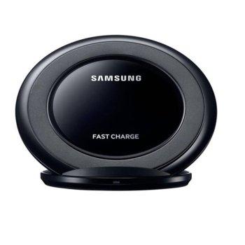 Безжично зарядно устройство Samsung EP-NG930 в комплект със зарядно у-во Samsung Travel Adapter, от контакт към безжично зареждане, 9V/1.67A или 5V/2A, черно image