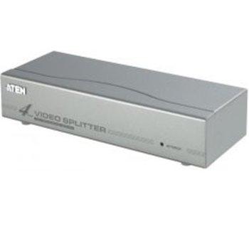 Видео сплитер ATEN VS94A, 4x 1, 350 MHz, метален, 65 м image