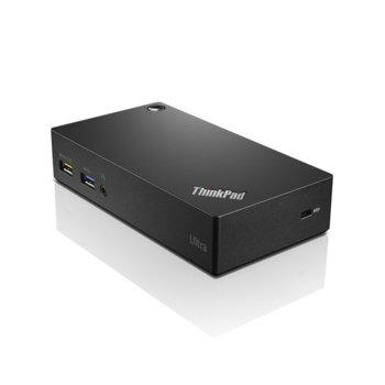 Докинг станция Lenovo ThinkPad Ultra dock, 3x USB A 2.0, 3x USB 2.0, USB Type B, Display Port, HDMI image