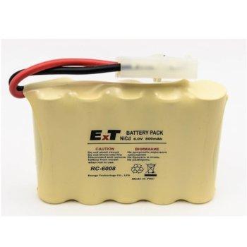 Акумулаторна батерия Energy Technology RC-6008, 5x АА, 6V, 800mAh, Ni-Cd, 1 бр. image