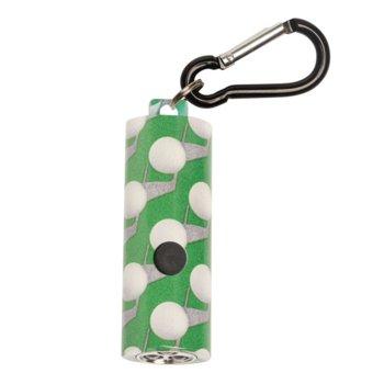 Фенер UST Brands 50-KEY0212, 3x LR44 батерии, джобен, бял/зелен image