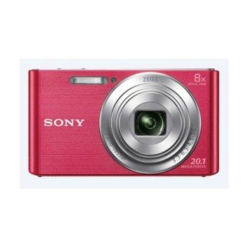 "Фотоапарат Sony Cyber Shot DSC-W830 (розов), 20.1MP, 8xOptical zoom, 2.7"" (6.86cm) екран, SDHC/SDXC, USB image"
