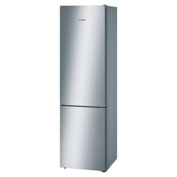 Хладилник с фризер Bosch KGN 39 VL 35, клас А++, 366 л. общ обем, свободностоящ, 273 kWh/годишно, NoFrost, Multi Airflow система, инокс image