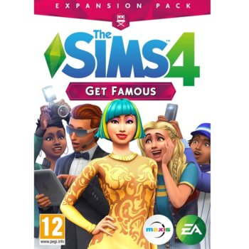 Игра The Sims 4 Get Famous Expansion Pack, за PC image