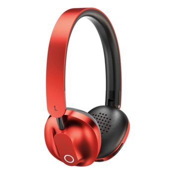 Слушалки Baseus Encok Wireless D01, безжични (Bluetooth 5.0), микрофон, контрол на звука, сгъваеми, microUSB към 3.5mm жак кабел, червени image