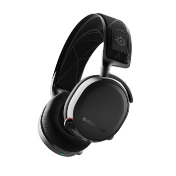 Слушалки SteelSeries Arctis 7 2019 Edition, гейминг, безжични(Wireless 2.4GHz), микрофон, до 24 часа време за работа, бързи бутони, черни image