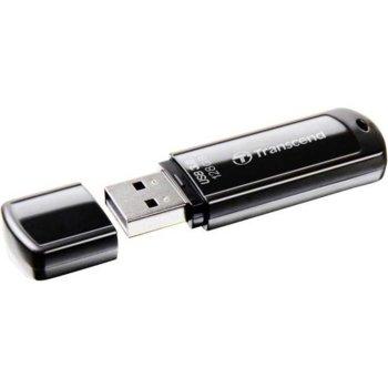 Памет 128GB USB Flash Drive, Transcend JetFlash 700, USB 3.0, черна image