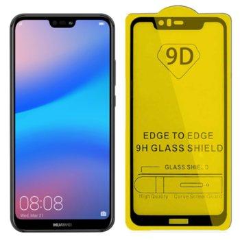Протектор от закалено стъкло /Tempered Glass/ за Huawei P20 lite 9D image