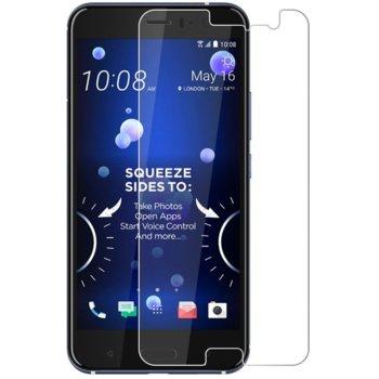 Протектор от закалено стъкло /Tempered Glass за HTC U11 Life, 0.3mm, прозрачен image