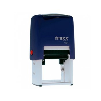 Автоматичен печат Traxx 9024 син, 40/40 mm, квадратен image