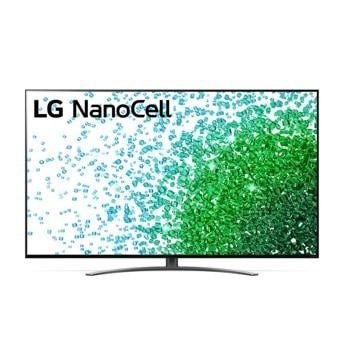 "Телевизор LG 65NANO813PA, 65"" (165.10 cm) 4K/UHD Smart TV, HDR, DVB-T2/C/S2, LAN, Wi-Fi, Bluetooth, 4x HDMI, 2x USB image"