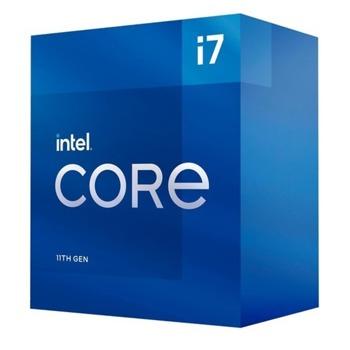 Процесор Intel Core i7-11700, осемядрен (2.5/4.9 GHz, 16MB, 1300MHz графична честота, LGA1200) Box, с охлаждане image