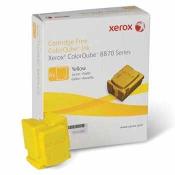 Касета за Xerox ColorQube 8870 - Yellow - P№ 108R00960 - 17 300k image