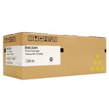 Касета за Ricoh SP C231/C232/C310/C311/C312 - Yellow - Type SPC310HE - P№ 406482/407635 - Заб.: 6 000k image