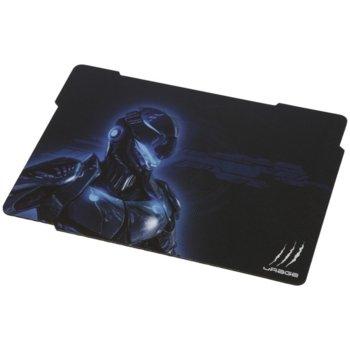 Подложка за мишка Hama uRage Cyberpad, гейминг, черна, 343 x 260 x 3mm image