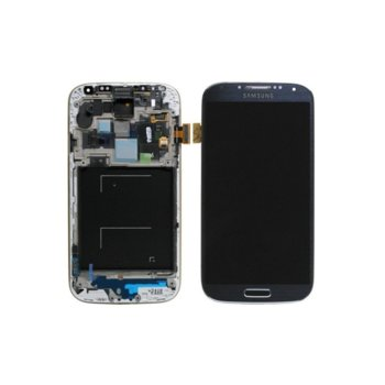 Samsung Galaxy i9515 S4 LCD with touch Blue product