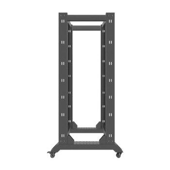 "Комуникационен шкаф Lanberg OR01-6832-B, 19"", 32U, 600 x 800 x 1694, черен image"