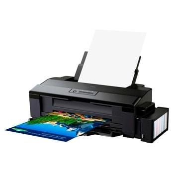 Мастиленоструен принтер Epson L1300, цветен, 5760x1440 dpi, 30стр/мин, USB, A3+ image