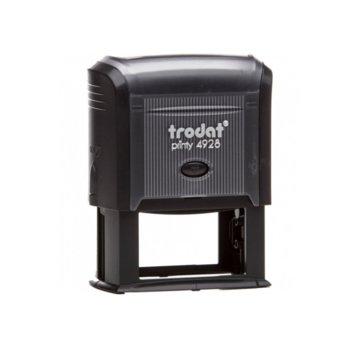 Автоматичен печат Trodat 4928 черен, 33/60 mm, правоъгълен image