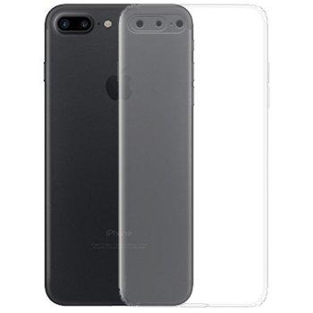 Калъф за Apple iPhone 7/8 Plus, силиконов, прозрачен image