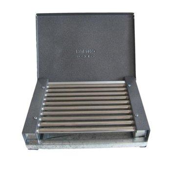 Електрическа скара Rubino ЕС- 0.9К, тръбни ребра от неръждаема стомана с вградени в тях нагреватели, 900 W image