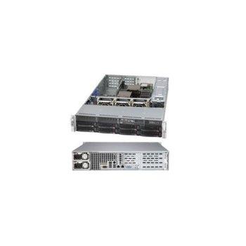Кутия Supermicro SC825TQ-R500WB, 2U rack-mount, с 1+1 500W захранване image