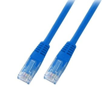 Пач кабел EFB Elektronik, UTP, Cat.6, 1m син image