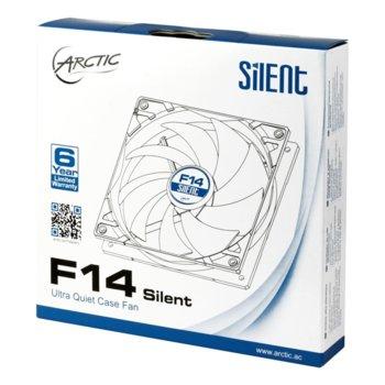 Вентилатор 140mm Arctic F14 Silent, 3-pin, 800 rpm image