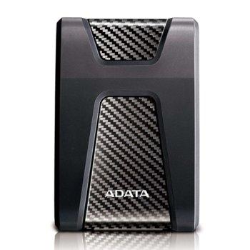 """Твърд диск 2TB A-Data HD650(черен), външен, 2.5"""" (6.35 см), USB 3.1 image"""