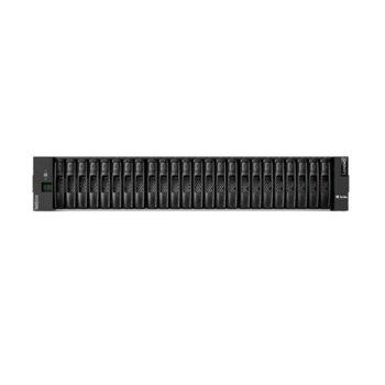 Мрежови диск (NAS) Lenovo ThinkSystem DE2000H SAS Hybrid Flash Array 2U24 SFF, до 1.47 PB, без твърди диск (SAS до 15.36 TB), 24x SFF слота, 2U rack mount, 1x RJ-45, 2x Micro-USB image