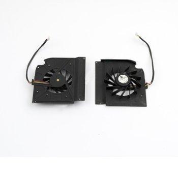 Вентилатор за лаптоп HP съвместим с Pavilion DV9000, DV9100, DV9200, DV9300, DV9400, DV9500, DV9600 image