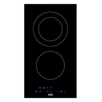 Стъклокерамичен котлон с инфрачервен нагревател AEG HRB32310NB, 2 нагревателни зони, 7 степени на нагряване, LЕD eĸpaн, 2900W, функция Stop & Go, черен image