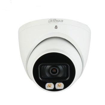 IP камера Dahua IPC-HDW5442TM-AS-LED-0280B, куполна, 4MP (2688x1520@30fps), 2.8mm обектив, H.265+/H.265/H.264+/H.264/H.264B/H.264H/MJPEG, IR осветленост (до 20м), външна IP67, PoE, 1x RJ45 10M/100M Base-T, microSD слот image