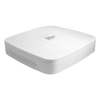 IP видеорекордер Dahua NVR2104-P-4KS2, 4 канален, H.265/H.264, 1x SATA up to 6TB, 2x USB, 4x LAN 100 Mbps (POE), HDMI, VGA image