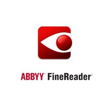 Софтуер ABBYY FineReader 15 Corporate, Volume License (Remote User), Perpetual, за 5-10 потребителя, Software Maintenance image