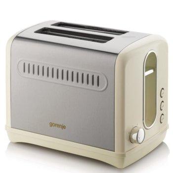 Тостер Gorenje T1100CLI, 6 степени на затопляне, Термостат, Автоматично изхвърляне, 950W, златист image