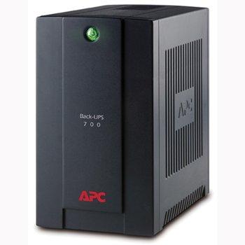 UPS APC Back-UPS 700VA, 700VA/390W, Schuko Sockets, Line Interactive image