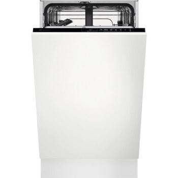 Съдомиялна за вграждане Electrolux EEA12100L, клас F, 9 комплекта, 5 програми, 3 температури, технология AirDry, WaterStop, бяла image