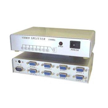 KVM суич Estillo MSV1815S, от VGA към 8x VGA, сребрист image