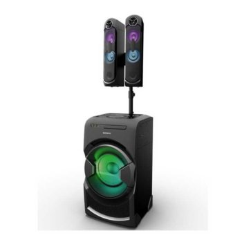 Аудио система Sony MHC GT4D, 2.1, HDMI, USB, CD, NFC, Bluetooth, DJ ефекти, парти светлини, черна image
