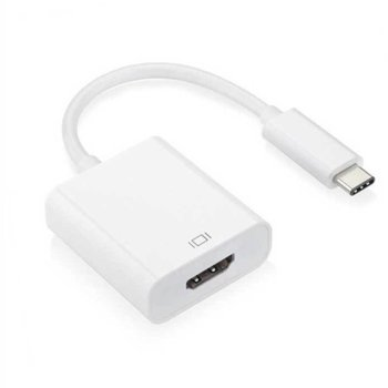 Преходник, USB Type C(м) към HDMI(ж), бял image