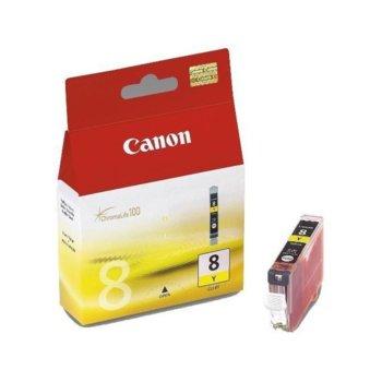 ГЛАВА CANON PIXMA iP 4200/5200/5200R/6600D/ MP 500/800 - Yellow ink tank - P№ 0623B001/CLI-8Y - заб.: 13ml. image